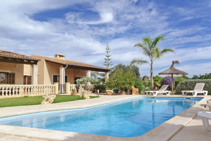 """La Torre"" -Wifi- AirCon- Seaview - Pool - Grill - Illes Balears - Hus"