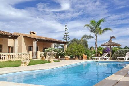 """La Torre"" -Wifi- AirCon- Seaview - Pool - Grill - Illes Balears - Casa"