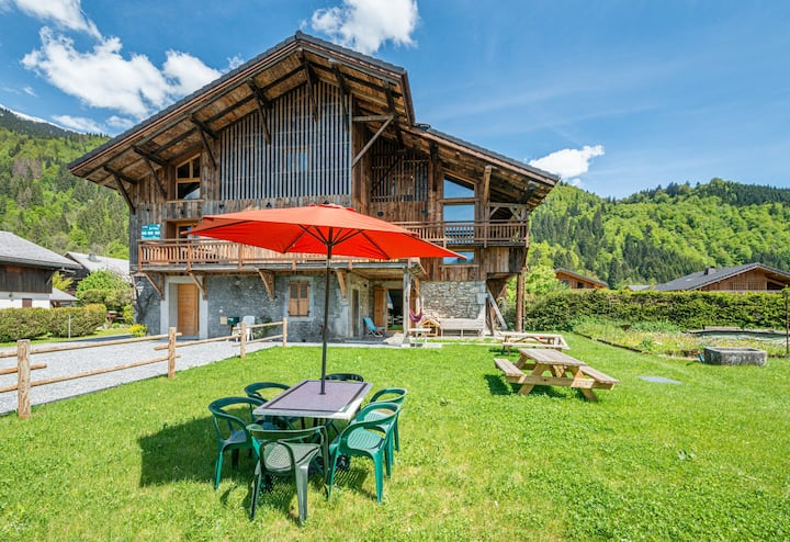 Chalet LouPaquis 4*  fully renovated old farm