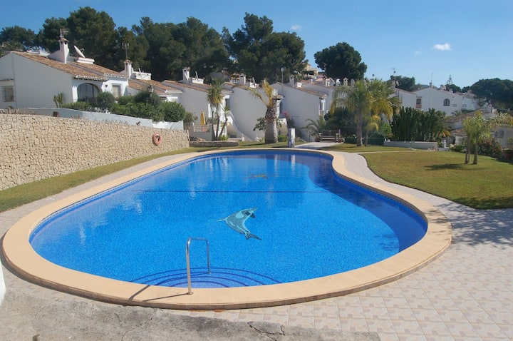 Lovely Moraira Villa