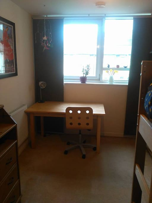 Your room - desk and chair