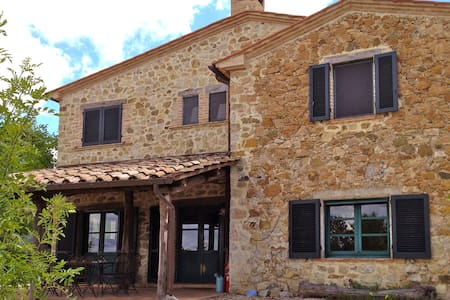 4bed farmhouse in beautiful country - Roccalbegna