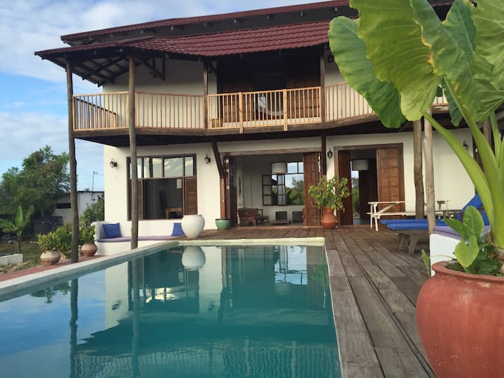 Private pool villa near Paje beach