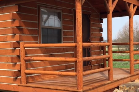 New Log Cabin At Big Muddy Brewing - Cabin #1