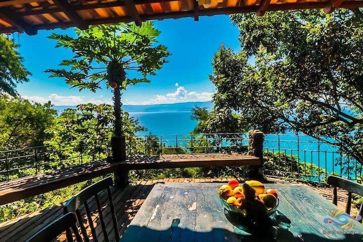 Casa Grande com Vista para o Mar -Ilhabela