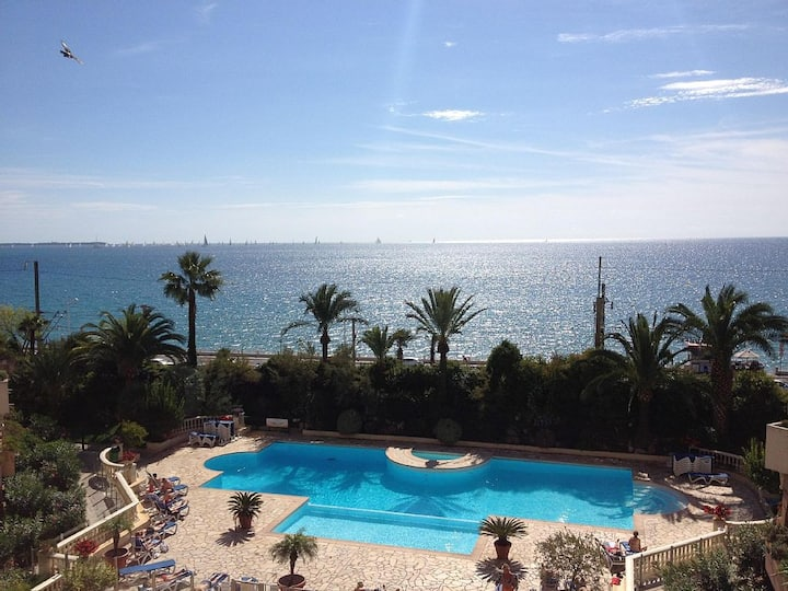 Cannes, Amazing Sea View, Sea Front, Swimming Pool