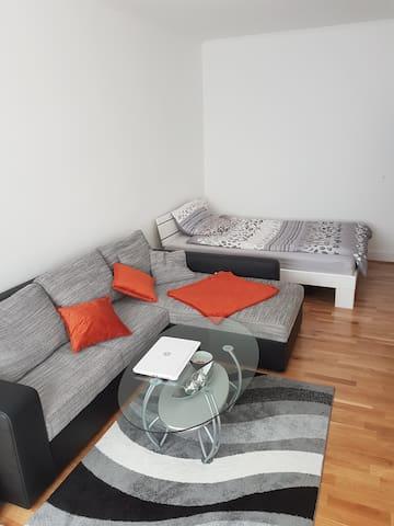 Ganze Wohnung mit Balkon und Wifi