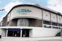 Sheffield FlyDSA Arena (5 mins taxi or 15 mins walk)
