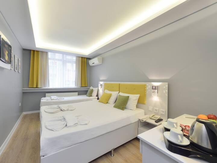 Uc Kisilik Oda - Sayeban Gold Hotel