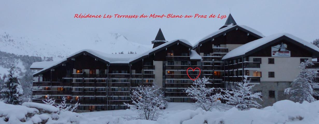 Studio 4 personnes Les Terrasses Du Mont Blanc - Taninges - Daire