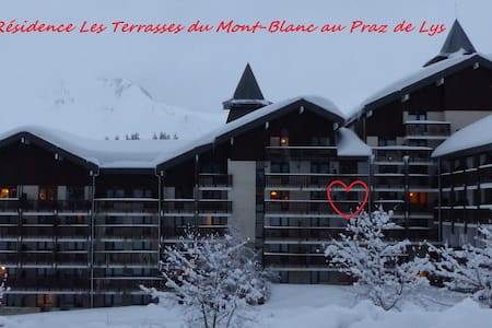 Studio 4 personnes Les Terrasses Du Mont Blanc - Taninges