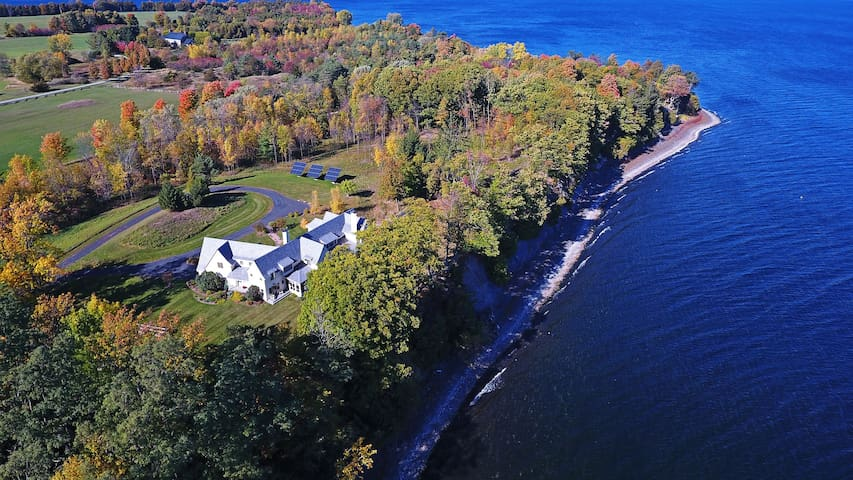 Stunning South Hero Home on Lake Champlain w/Views