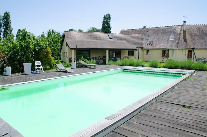 Maison 200 m² Souvigny avec piscine