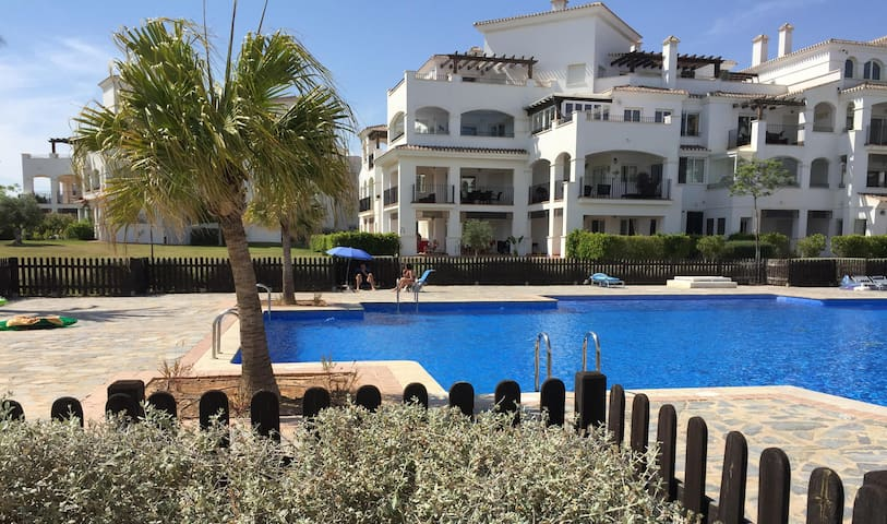 Hacienda Riquelme Golfresort, Sucina apt.C - Sucina - Apartment