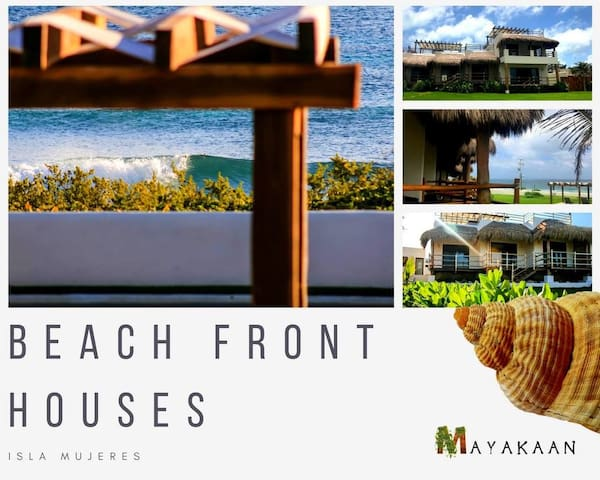 MAYAKAAN HOUSES, FANTASTIC BEACH VIEW w/ROOFTOP#