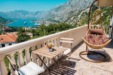 Beautiful Panoramic Boka bay view apartment