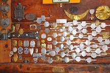 la collection d'ancienne plaque de vélo : unique..
