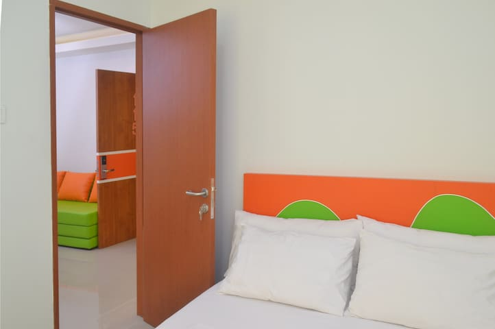 Our deluxe  family rooms are yours...!