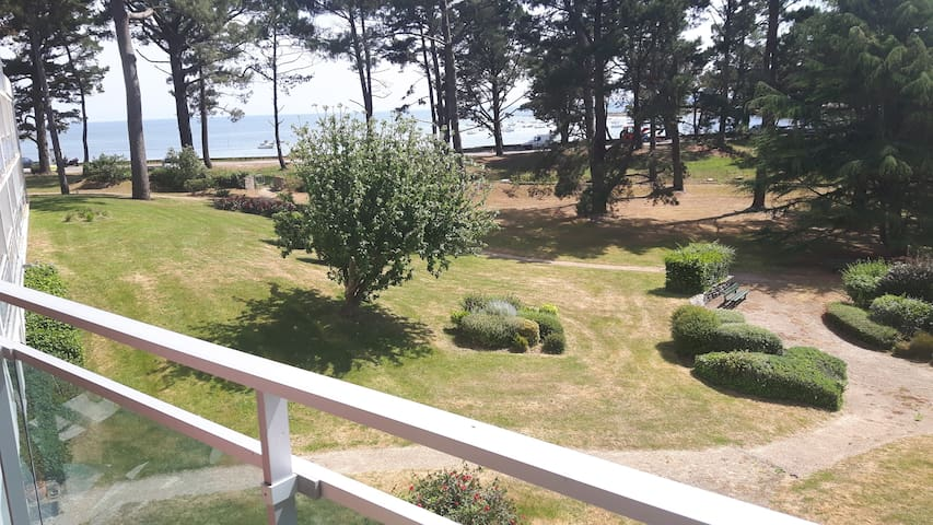 appartement face mer plage - Saint-Philibert - Apartamento