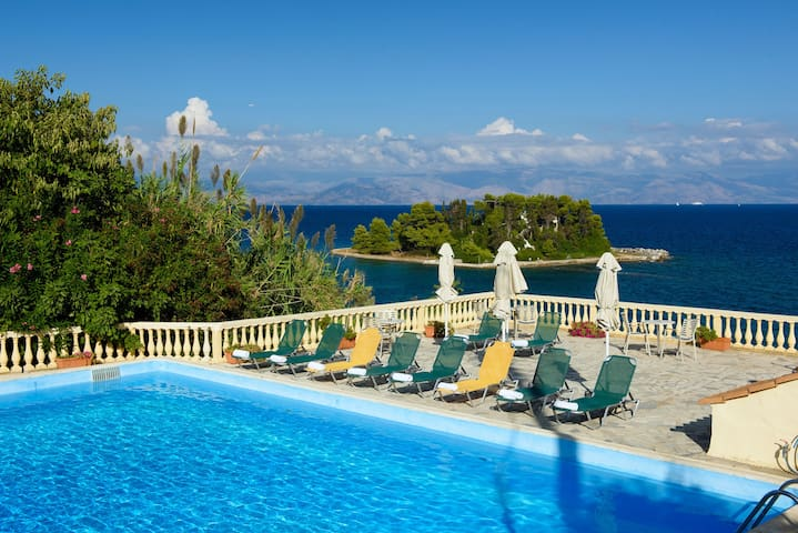 PONTIKONISI Hotel-Double/twin room with Sea view