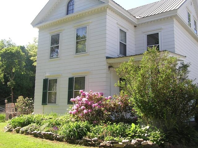 In town large 1827 Greek Revival with history. - Norwegia - Bed & Breakfast