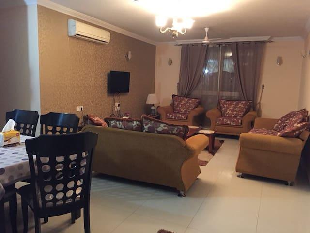 Hamid's flat