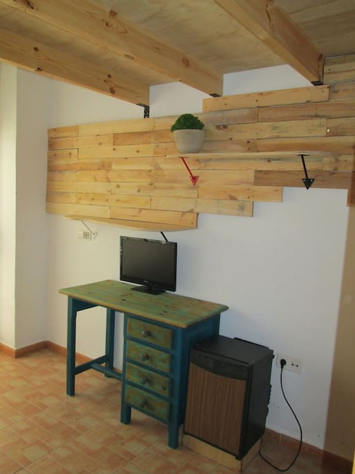 Habitación Buhardilla (máximo 3 personas)