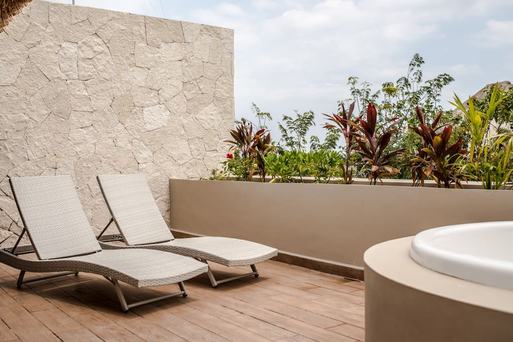 Enjoy The Sunny Days in your Private Terrace