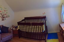 Third bedroom (crib can be swapped with single bed)