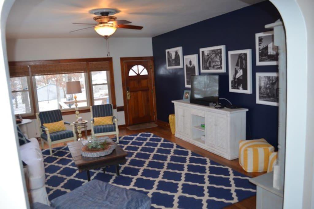 family room, main level