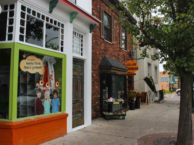 Historic Downtown Traverse City Apartment