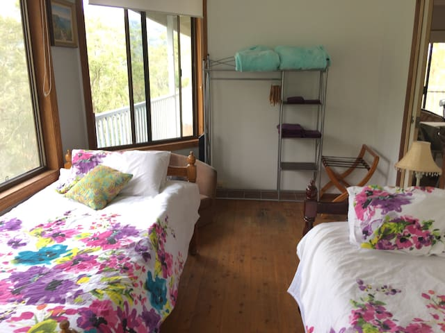 Eden view bunk room - Canungra - Bed & Breakfast