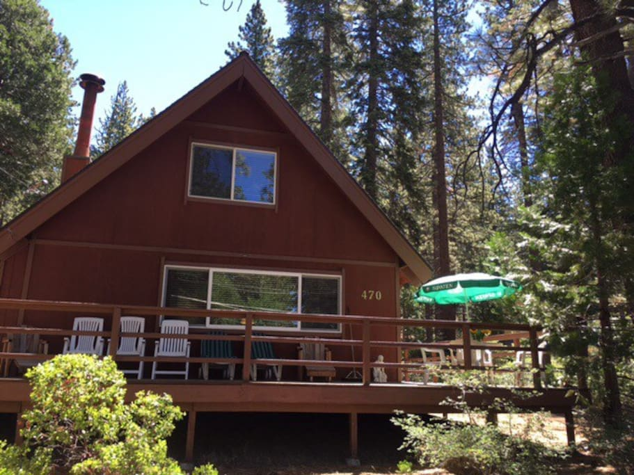 Our cabin in Summer