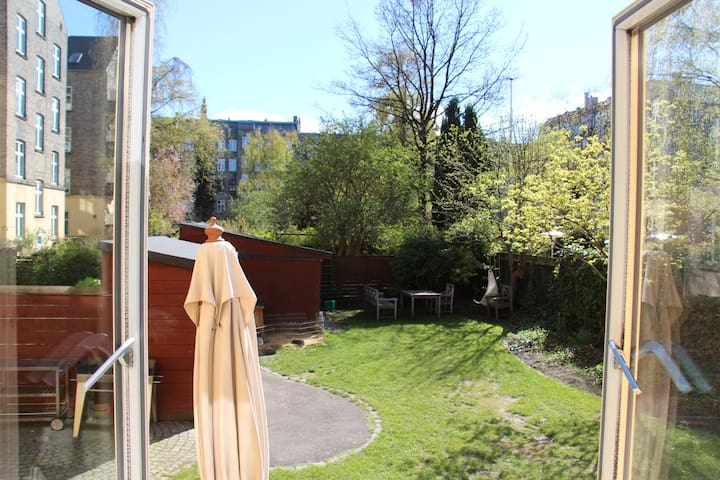 Cosy room, green view in the heart of Copenhagen - Frederiksberg - Appartement