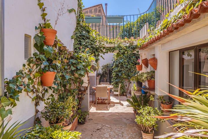 Charmantes Ferienhaus Sa Posada mit WLAN, Balkon und Terrasse; Parkplätze vorhanden; Haustiere erlaubt