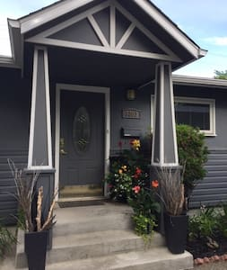 Clean, comfortable, and cozy lower level bungalow.