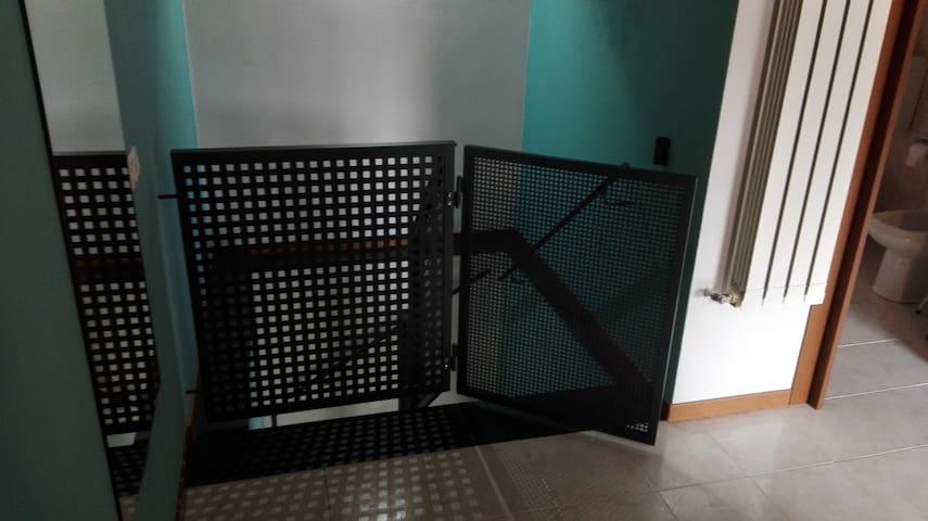 Protezione per le scale