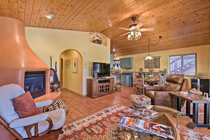 Cozy Southwestern Villa on Angel Fire Golf Course!