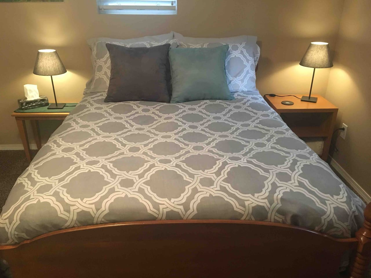 Restful Sleep in your Double Bed