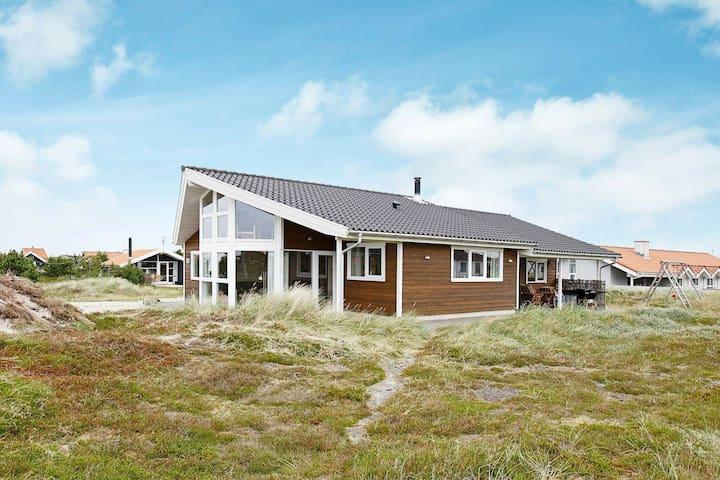 Casa de vacaciones moderna en Thisted con sauna