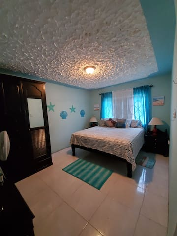 Cozy Beach Themed King Bedroom For Rent w/wifi