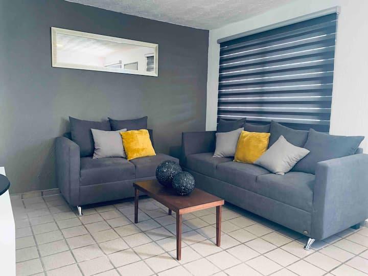 2 Confortable y cómodo departamento nuevo