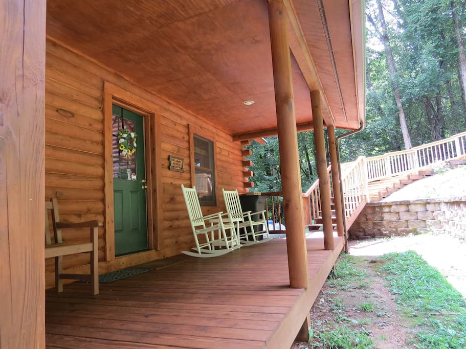 ALPINE LOG CABIN  BOONE NC  Cabins for Rent in Boone North