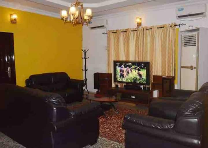 Family House in Ikeja at $150/house, $30/room