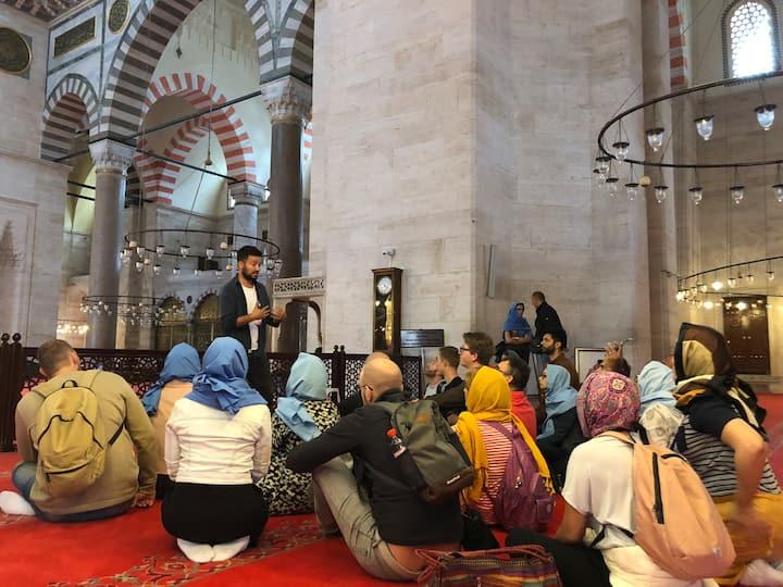 Suleymaniye Mosque, talking about Islam