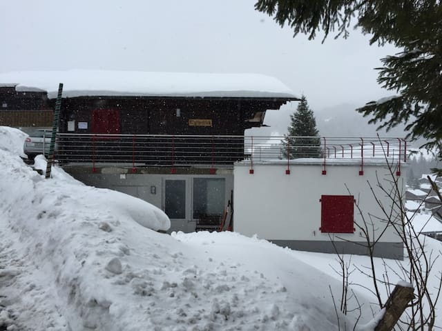 Entspannung pur im Chalet Mythenblick