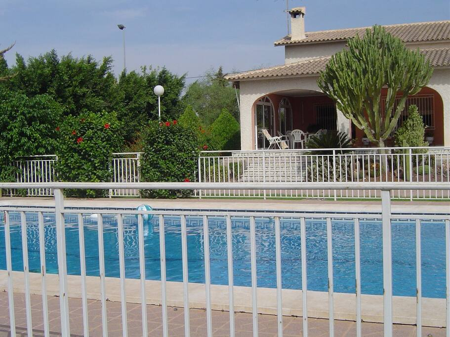 Oasis casa chalet con piscina casas de campo en - Casas de campo en elche de bancos ...