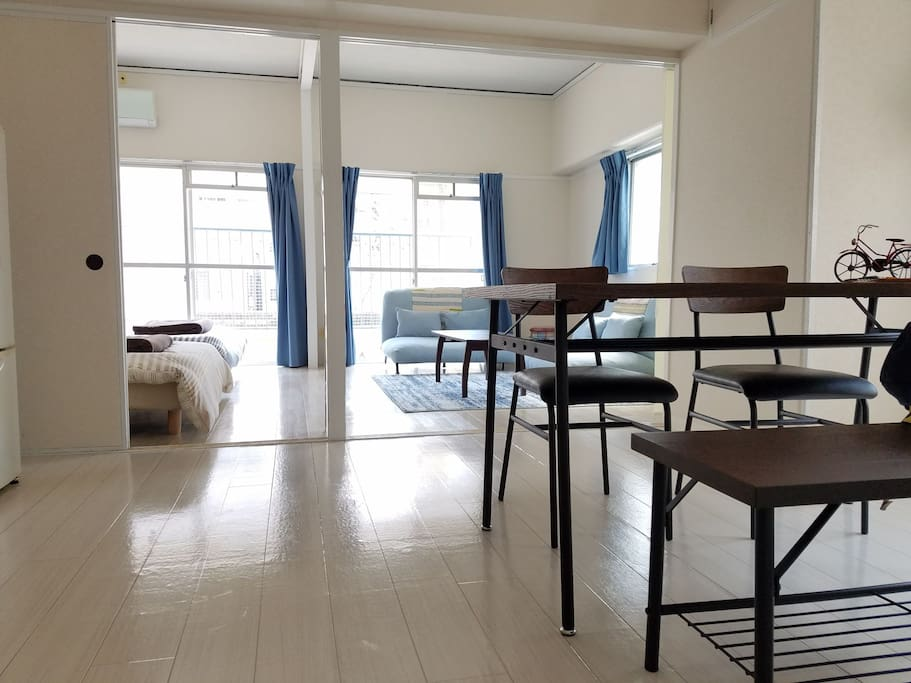 Very spacious room① with AC
