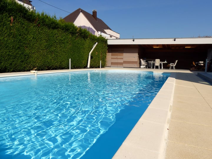 Strasbourg: SPA+Piscine+Parking Appart 70m²