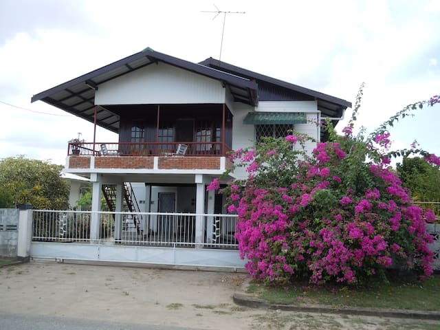 Ground floor apartment with great outdoor area. - Paramaribo - Apartamento